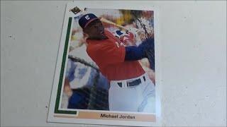 RARE Michael Jordan BASEBALL CARD 1991 Upper Deck SP1
