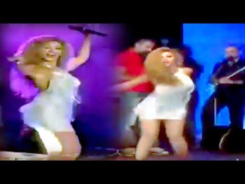 رقص مثير للمطربة ميريام فارس Arab hot dance