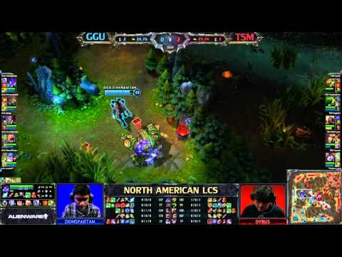 GGU vs TSM - LCS 2013 NA Spring W7D2 (English)