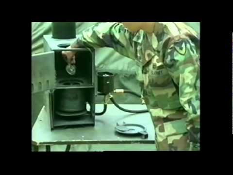 Millitary instructional video for Sapce Heater Arctic (SHA)
