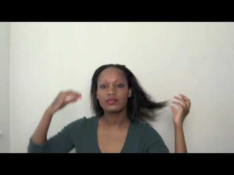 Tutorial: How to Blow Dry Relaxed Hair