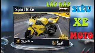 Monzo Digital Model Builder - Sport Bike Gameplay - Trò Chơi Lắp Ráp Siêu Xe Moto Thể Thao Đẹp