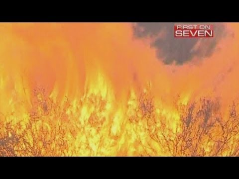 Australian wildfires: Temperatures set to reach a record 50 C