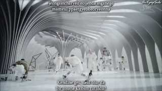 EXO -  Wolf (늑대와 미녀) (Korean Version) MV Turkish Sub & Romanization Lyrics