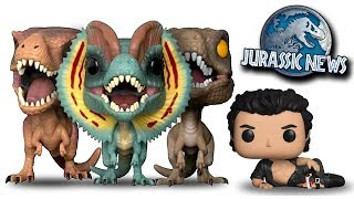 NEW Jurassic World Evolution Footage, Funko Pops + PinHead! Jurassic News