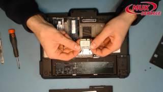 Замена модуля Wi Fi в ноутбуке HP ElitBook 2740p. Ремонт ноутбука