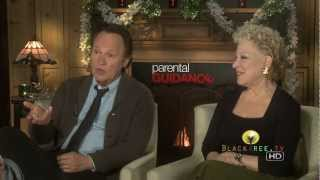 Parental Guidance - Billy Crystal & Bette Midler talk about making the film Parental Guidance