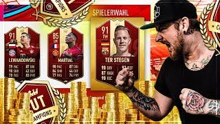 Was Passiert HIER 😂 WEEKEND LEAGUE Rewards 🔥 Division Rivals + Champions League Packs | FIFA 19
