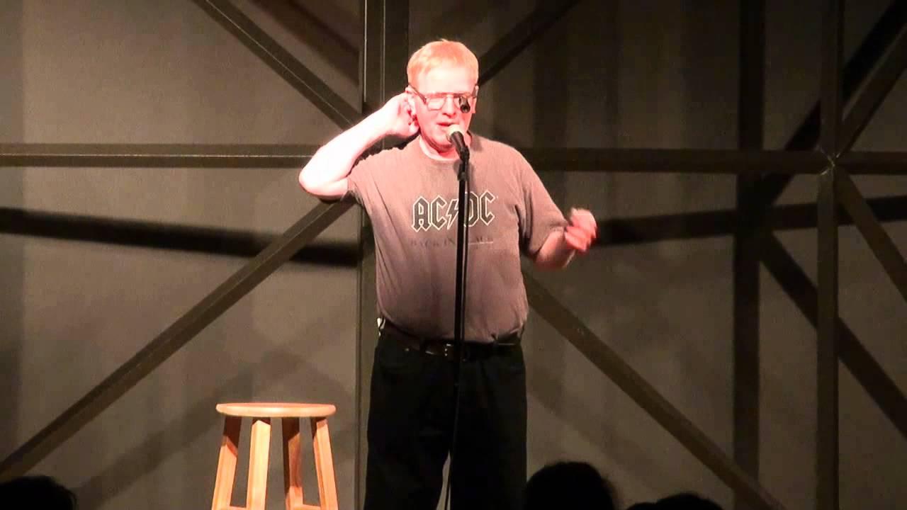 Black Albino Comedian Albino Comedian at Cap City