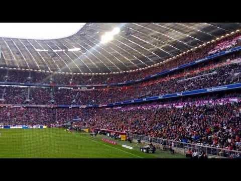 Bayern Munich Allianz Arena Goal Celebrataion