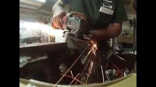12mm Kryptonite New York Bike Chain VS Angle Grinder