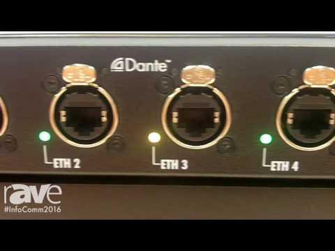 InfoComm 2016: d&b audiotechnik highlights DS10 Audio Network Bridge