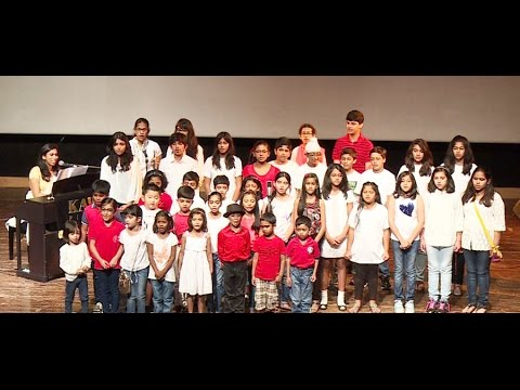 "Group Singing Performance : ""God Will Make A Way"" by students of Lorraine Music Academy"
