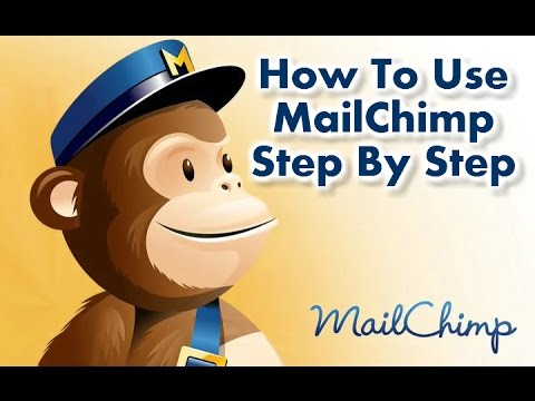 How To Use Mailchimp Step By Step Full Tutorial For BEGINNERS (Free Email Marketing) #1