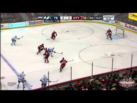 Tampa Bay Lightning at Ottawa Senators   03\20\2014