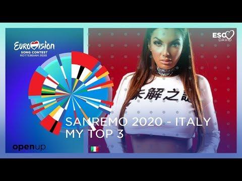 My Top 03 ● Sanremo 2020