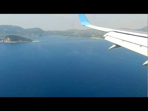 One of the worlds most beautiful islands to land at on a nice clear day. You fly directly over the beach at Kalamaki. It's also only a 15 minute transfer to Laganas which is nice. On the beach...
