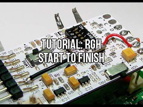 Tutorial Xbox 360 RGH Reset Glitch Hack Start To Finish Noob Friendly