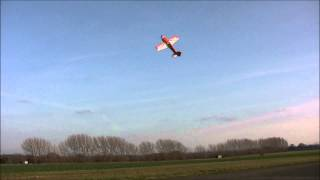 Electric 3D HobbyShop Slick 104 maiden flights HD video