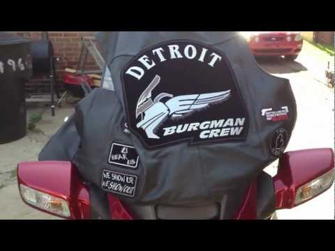 Burgman 650 Executive CUSTOM SOUND SYSTEM PART 2