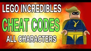 Lego Incredibles - All Cheat Codes (Characters)