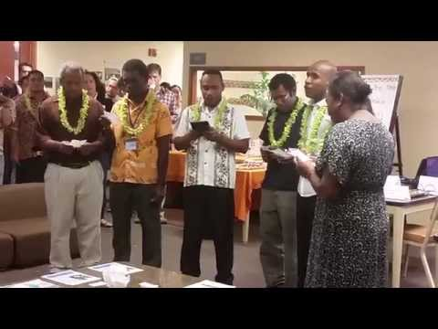 Solomon Islands voices at East-West Center