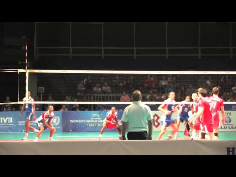 Cuba se impone en la Liga Mundial de Voleibol