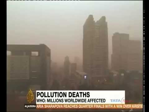 Air Pollution claiming lives of 7 million people annually