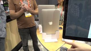 Henge Docks Air Dock Hands On CES 2012