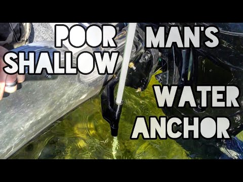 Poor Man's Shallow Water Anchor