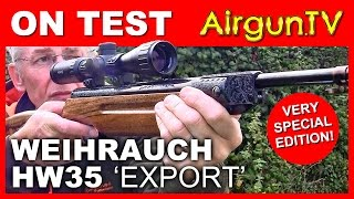 REVIEW: Weihrauch HW35 one off air rifle