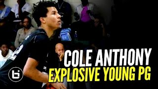 Cole Anthony EXPLOSIVE Young Point Guard Shows OUT! Son of Former NBA PG!