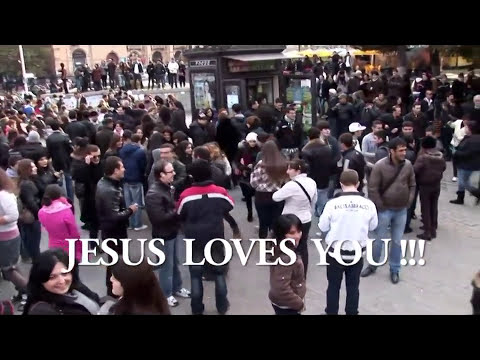 Christian flash mob  JESUS LOVES YOU  the best - YouTube  TITL.mp4