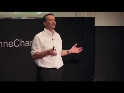The street lamp that absorbs CO2: Pierre Calleja at TEDxLausanneChange