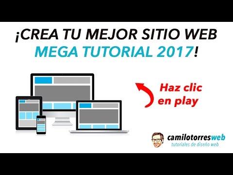 Como Crear una Pagina Web, Blog o Tienda Virtual Para Principiantes  – Mega Tutorial 2017