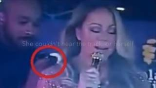 RAW AUDIENCE FOOTAGE: Mariah Carey - NEW YEARS FAIL 2016