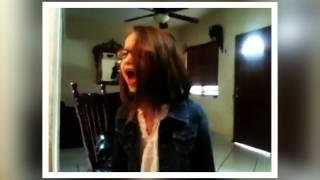 Niña de Hermosillo cantando con su hermanito - Completo Original HD