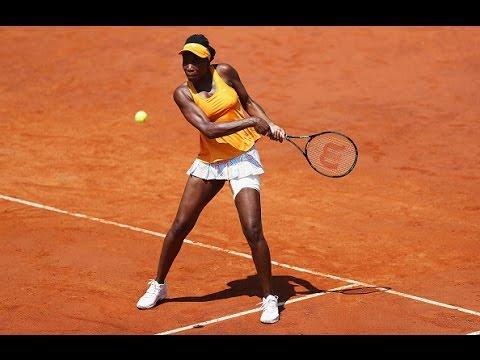 2016 Internazionali BNL d'Italia First Round | Venus Williams vs Coco Vandeweghe | WTA Highlights
