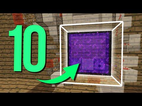 ТОП 10 Самых крутых и полезных механизмов для ВЫЖИВАНИЯ в Minecraft!