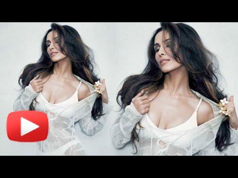 Hot Malaika Arora Poses In Two Piece Bikini - Maxim Photoshoot 2014