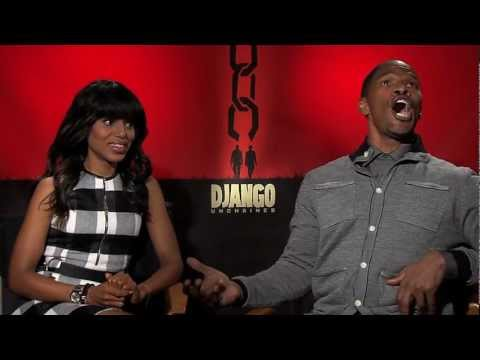 'Django Unchained' - Jamie Foxx sings Salsa during interview