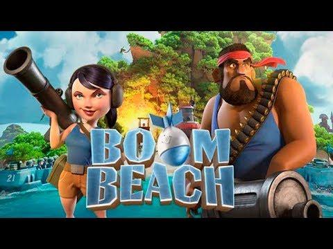 Boom Beach #1 СПАСЁМ островитян от Стражей ТЬМЫ! Детское игровое Видео Let's play