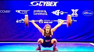 Rebekah Tiler - Cybex British U17 Weightlifting Championships