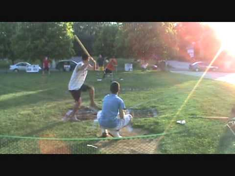 Caputo Complex Wiffle Ball- 2010 Opening Night