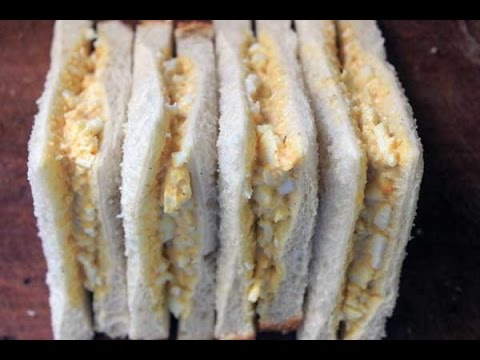 Curried Egg Sandwiches - RECIPE