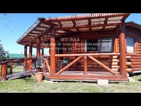 Inti Roca Construcción de cabañas con troncos  Machimbrados -  Construccion de Octogono