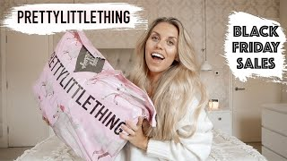HUGE TRY ON PRETTY LITTLE THING HAUL | BLACK FRIDAY 2019