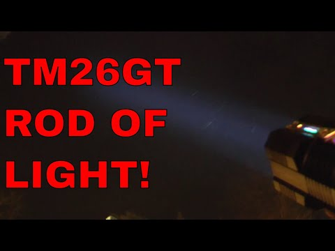 FLASH SALES! Nitecore TM26GT 3500Lm Flashlight Review