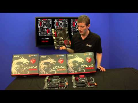MSI Gaming Series Motherboards Showcase