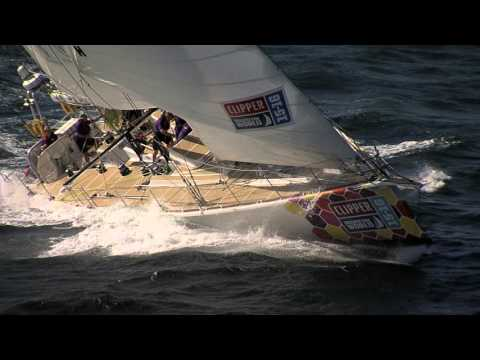 CLIPPER RACE STORMS INTO CAPE TOWN
